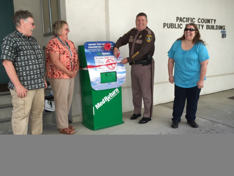 Rx Drop box moves in at the Pacific County Sheriff's Office