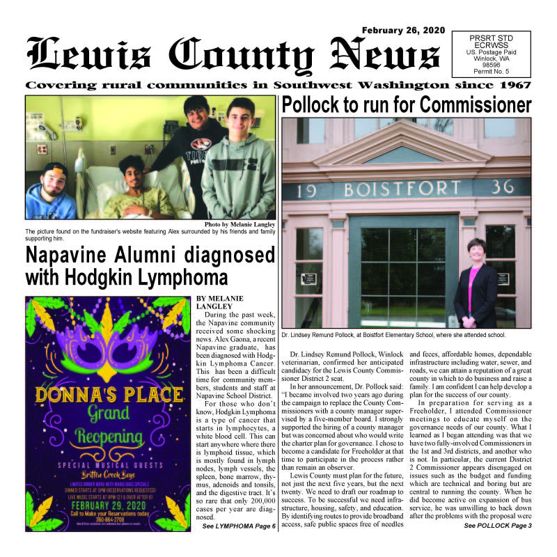 February 26, 2020 Lewis County News