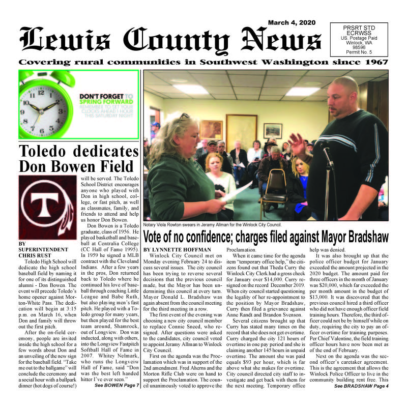 March 4, 2020 Lewis County News