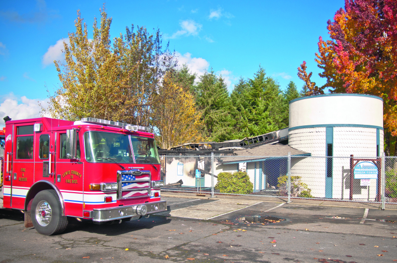 Help save the fire station at Winlock High School