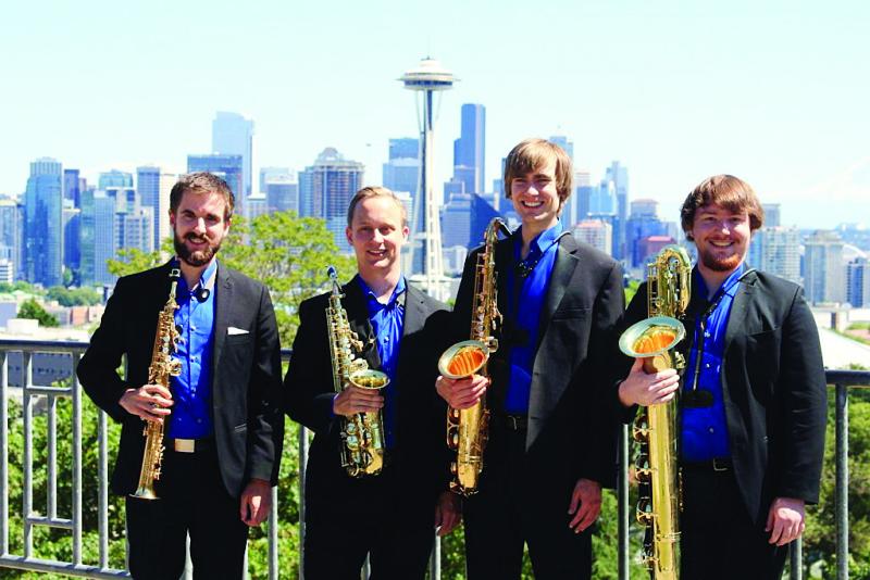 Equus Saxaphone Quartet concert