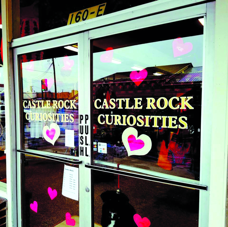 Castle Rock Curiosities offers unique items