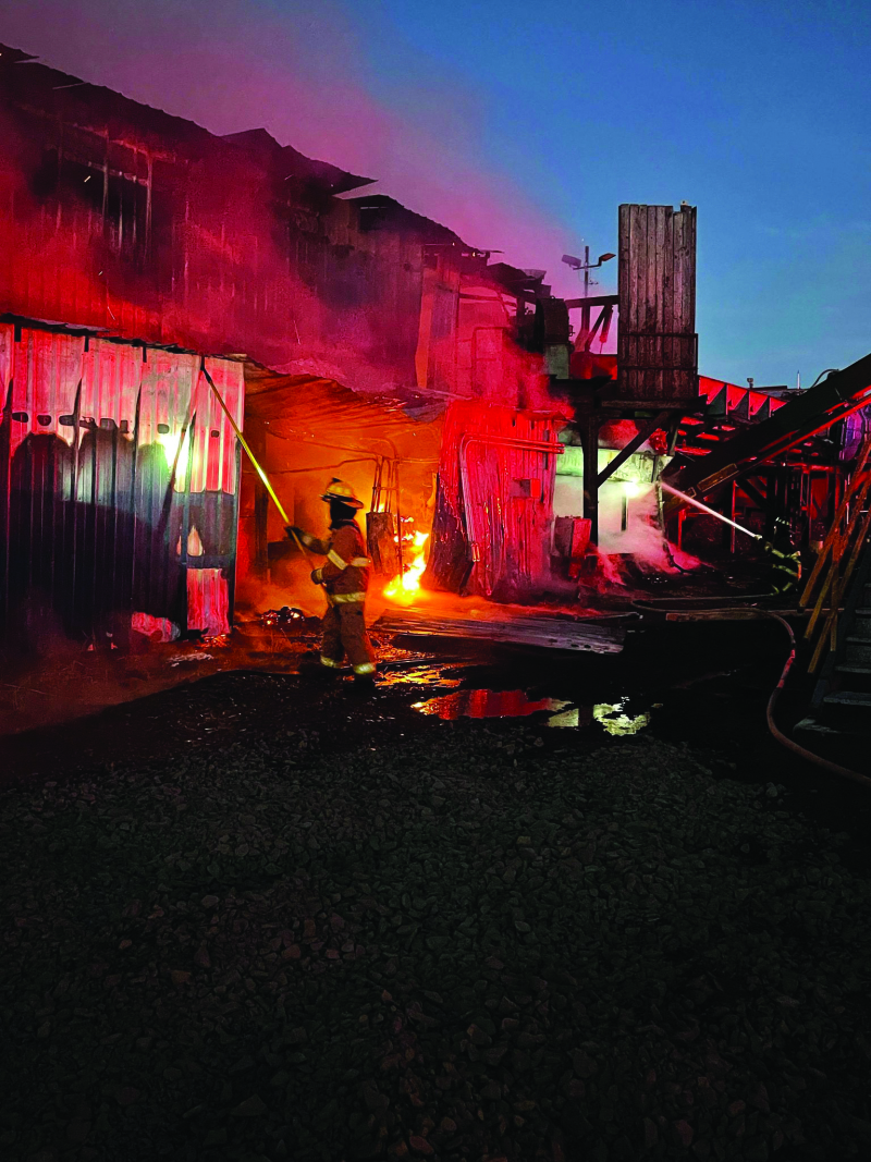 Winlock Fiber fire was a loss to every employee
