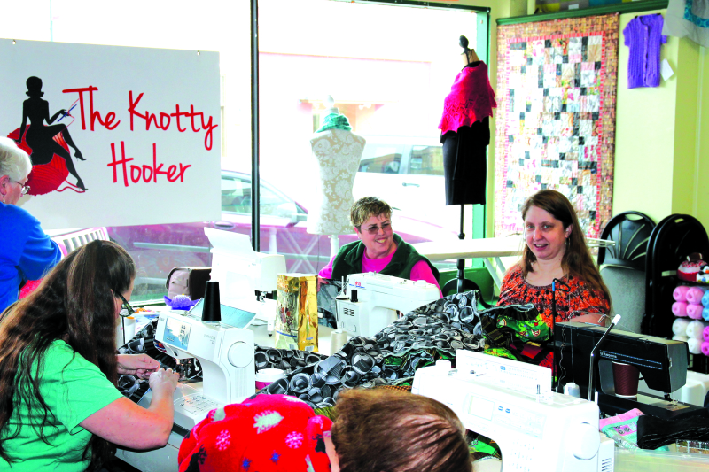 The owners of The Knotty Hooker have taken over ownership of The Quilt Nest.