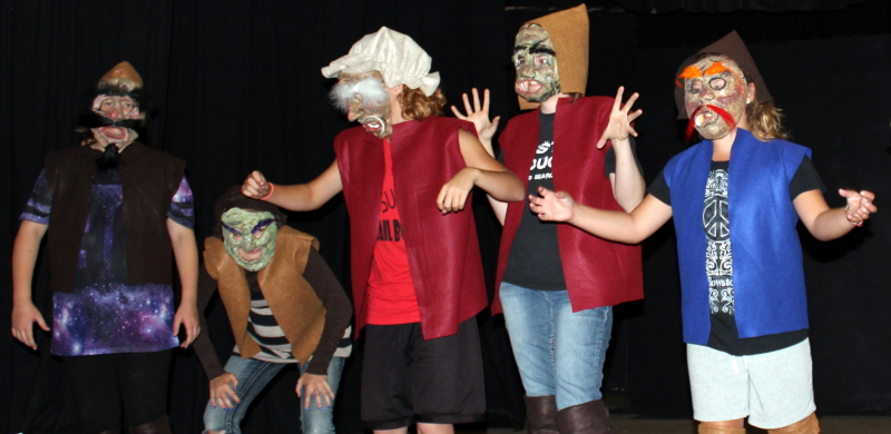 Summer Children's Theater: Willapa Players Children's Program Perform Show
