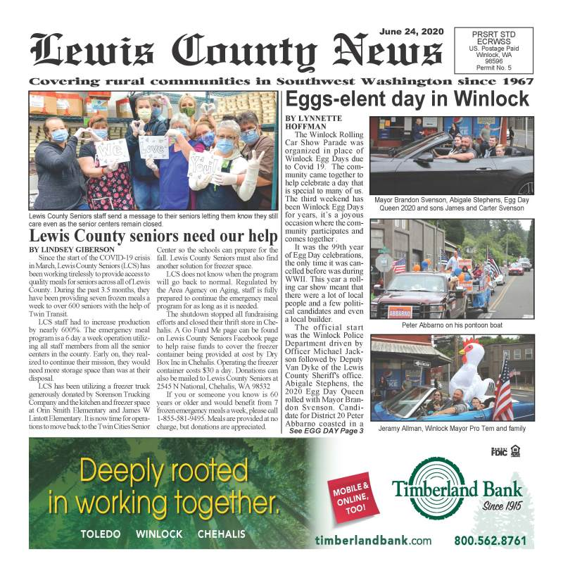 June 24, 2020 Lewis County News