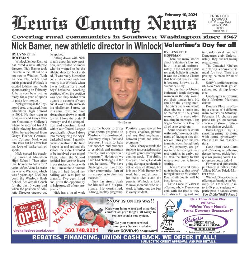 February 10, 2021 Lewis County News