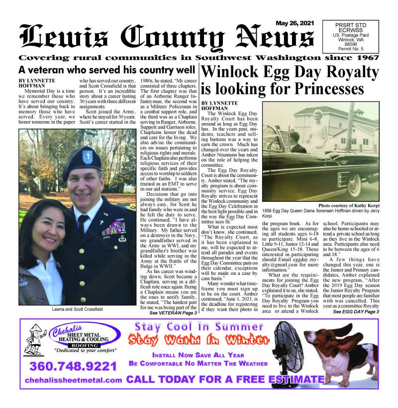 May 26, 2021 Lewis County News