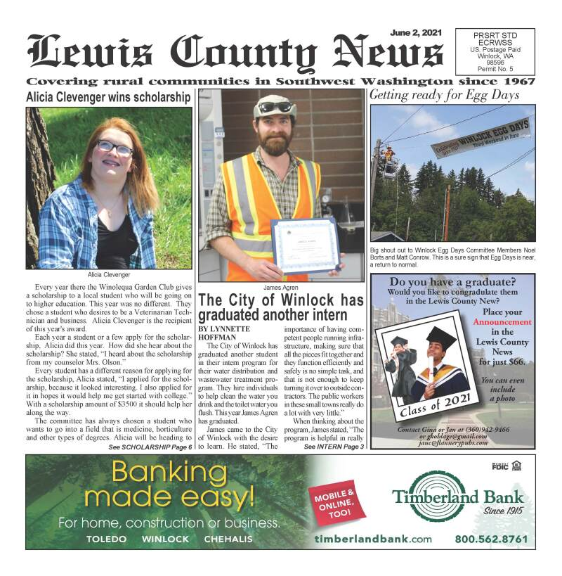 June 2, 2021 Lewis County News