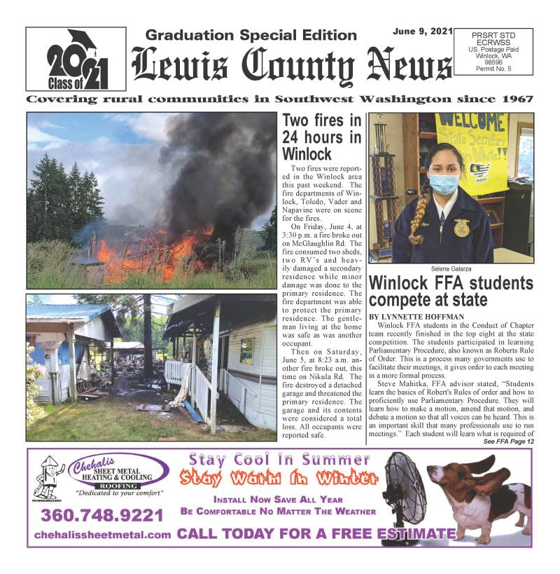 June 9, 2021 Lewis County News