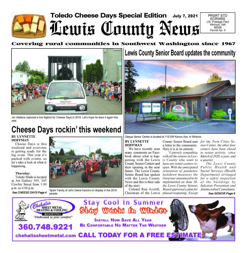July 7, 2021 Lewis County News