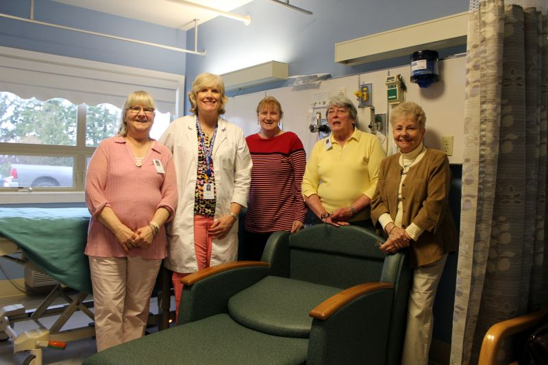 Auxiliary brings luxury to the hospital