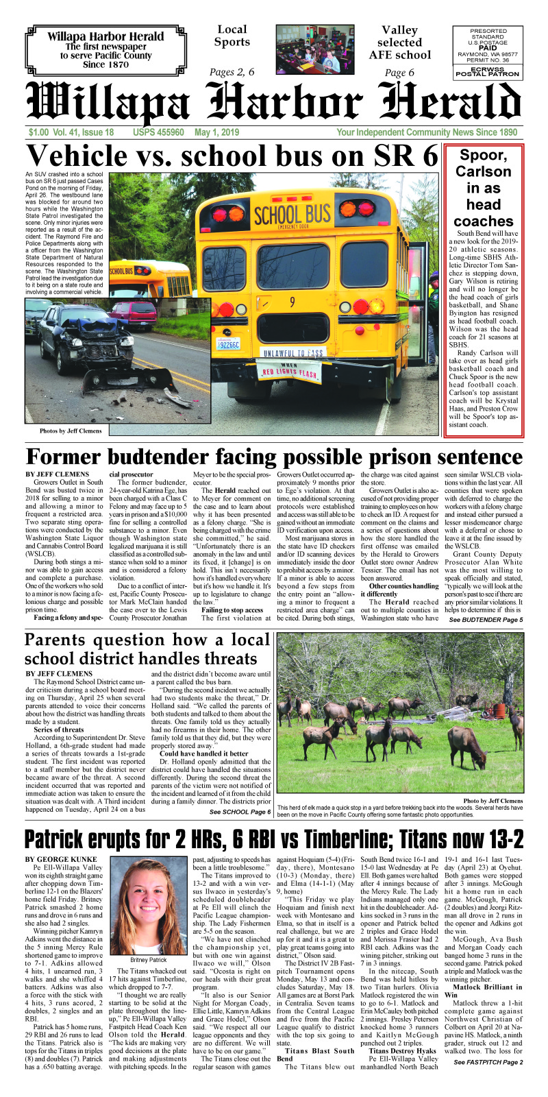 May 1, 2019 Willapa Harbor Herald