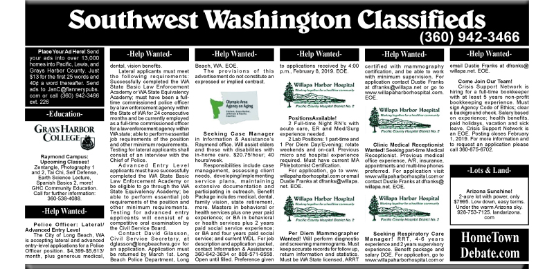 Classifieds 1.23.19