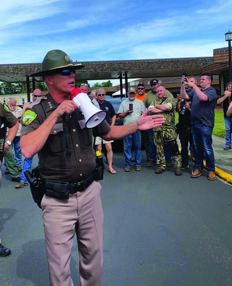 Sheriff Snaza makes national news
