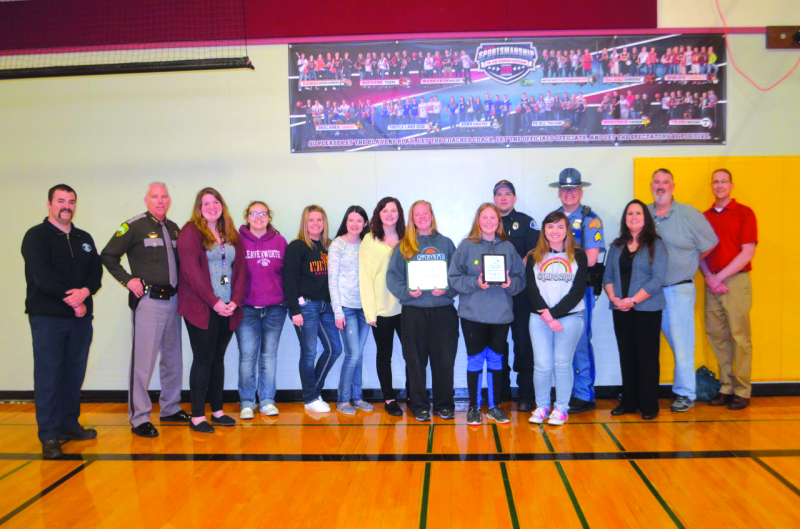 Winlock students honored for driver safety efforts