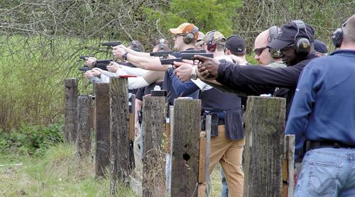 'Trigger control, trigger control, trigger control' | Winlock 2013 police reserve academy range day