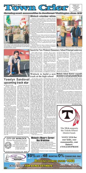 Town Crier May 9, 2018