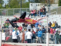 Moore, Fisher Place at State Track Meet