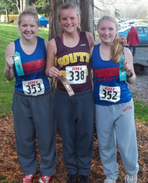 Hoffman, Cook, Kudasik run their way to State