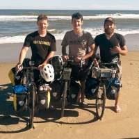 Local bicyclists preparing documentary after cross-country trip