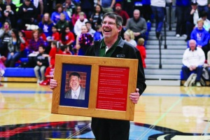 Friese bestowed honor before hometown fans