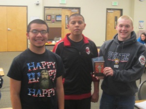 RHS Math Team takes second