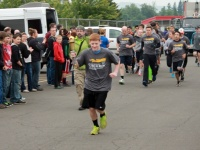 Winlock's Jared Pohll starts Special Olympics torch run