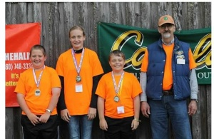 4-H shooting team ties for 2nd at state