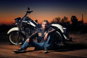 Escorted motorcycle ride, local musician set the stage for Scott Helmer at Raymond Theatre