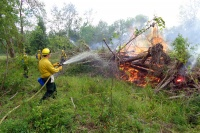 Toledo takes on wildfires in training exercise
