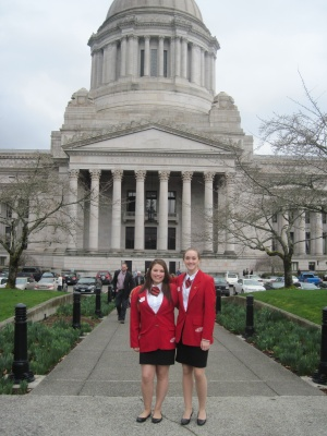 Valley FCCLA attends CTE Legislative Day