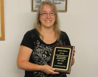 Whitten recognized for 20 years of service