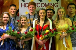 SBHS Winter Homecoming Court
