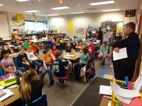 Chief talks cyber bullying with Winlock students