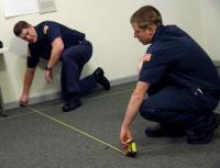 Cadets process mock crime scenes in Winlock