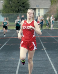 Moore Carrying on Family Track Tradition