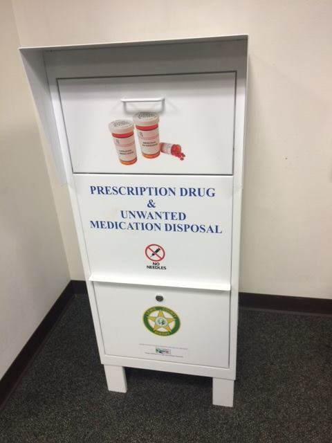 Prescription drug drop off