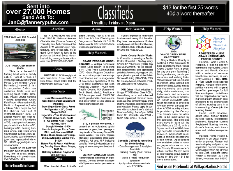 Classifieds 1.13.16