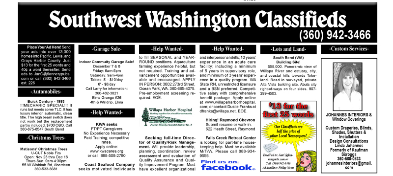 Classifieds 12.5.18
