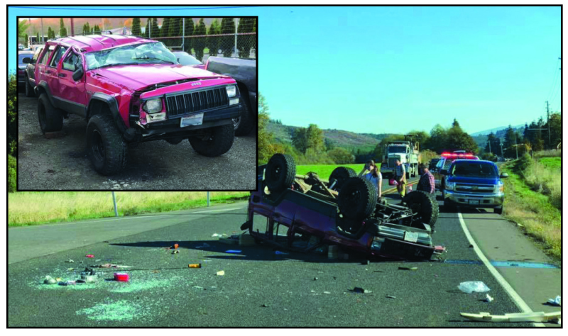 Teen survives nasty rollover on SR 6