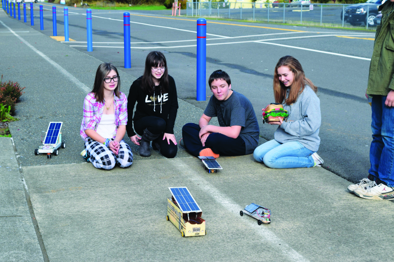 PUD educates students about solar cars
