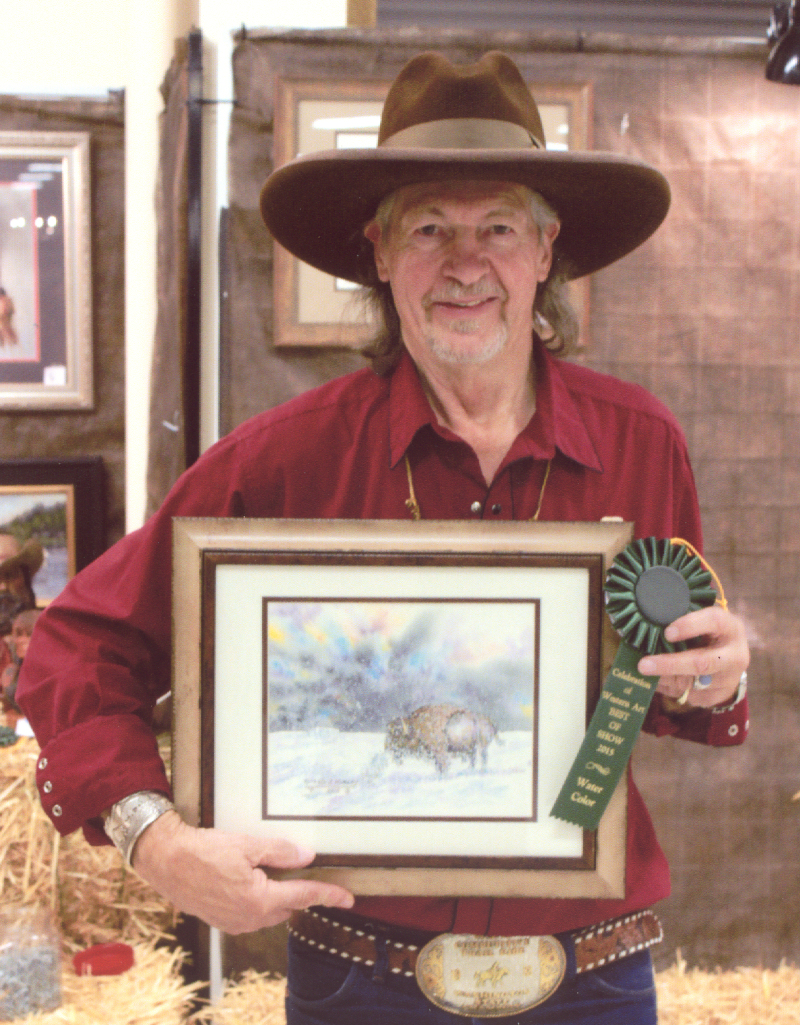 Local Artist Wins Awards at Art Show in Puyallup
