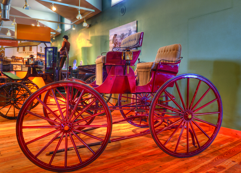 New Arrival at the Northwest Carriage Museum