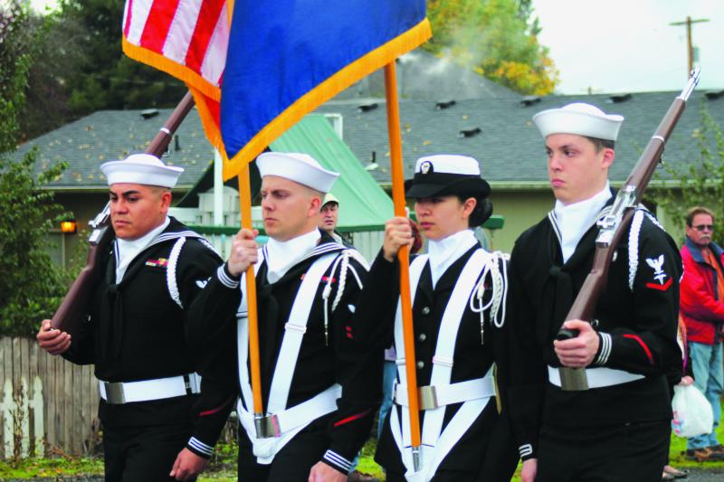Toledo celebrates Veteran's Day