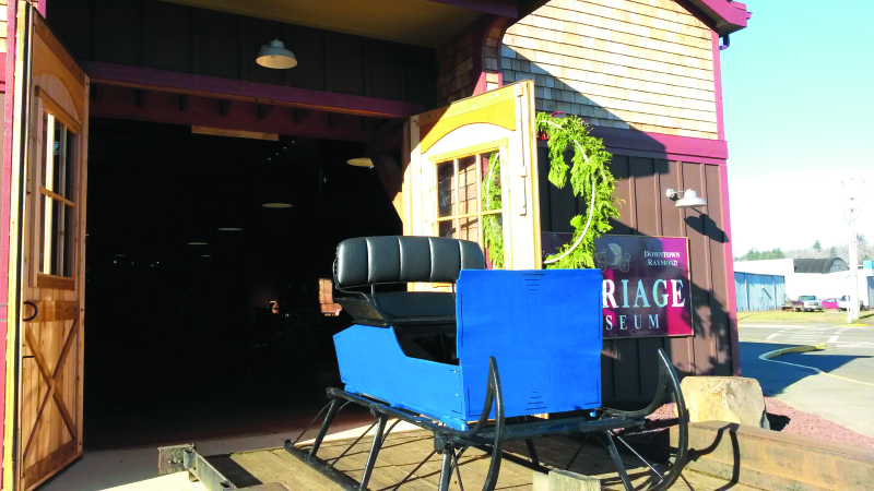 Carriage Museum gets new sleigh
