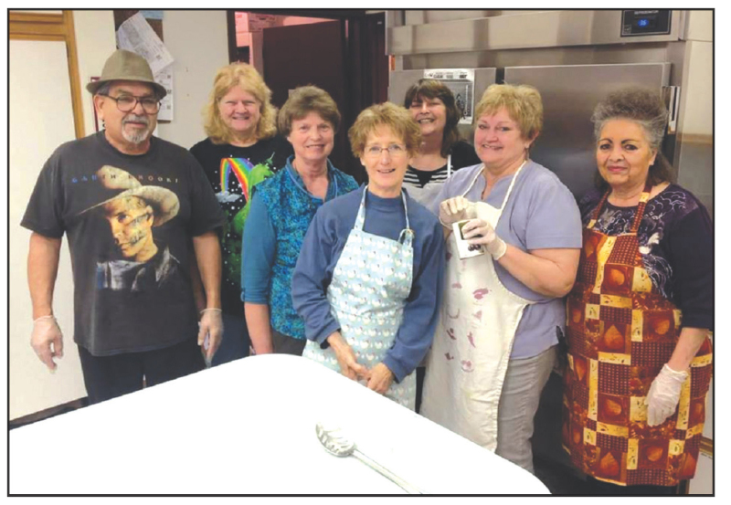 Senior Center Potato Bar Fundraiser