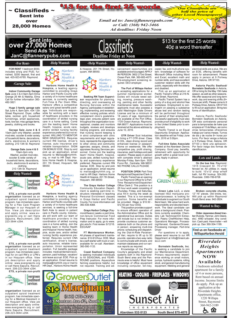 Classifieds 6.1.16