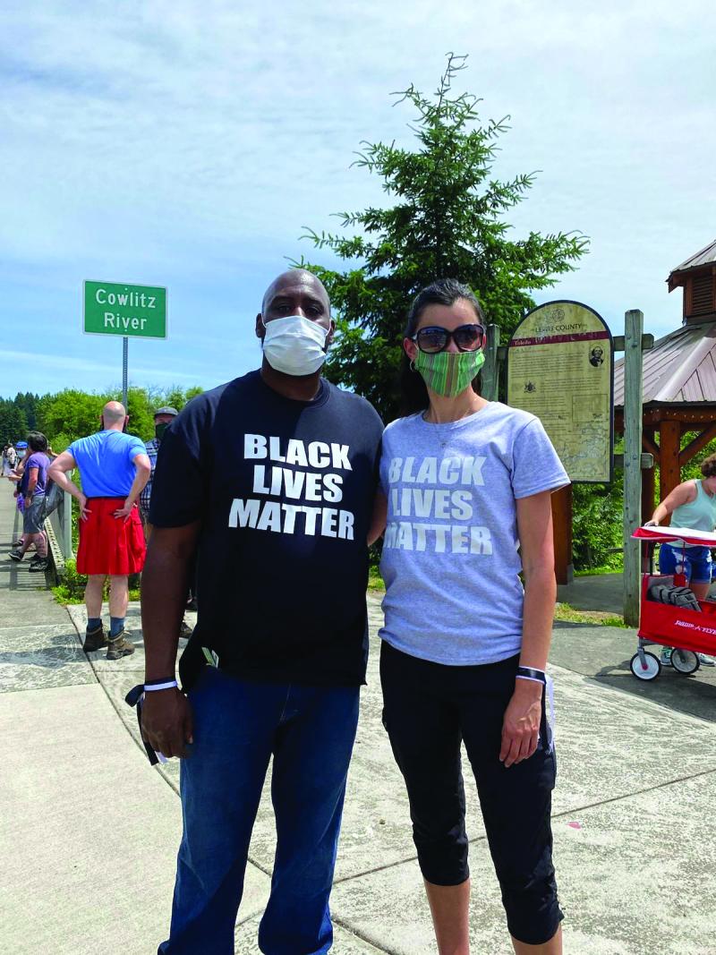 Black Lives Matter protests in Toledo on Juneteenth