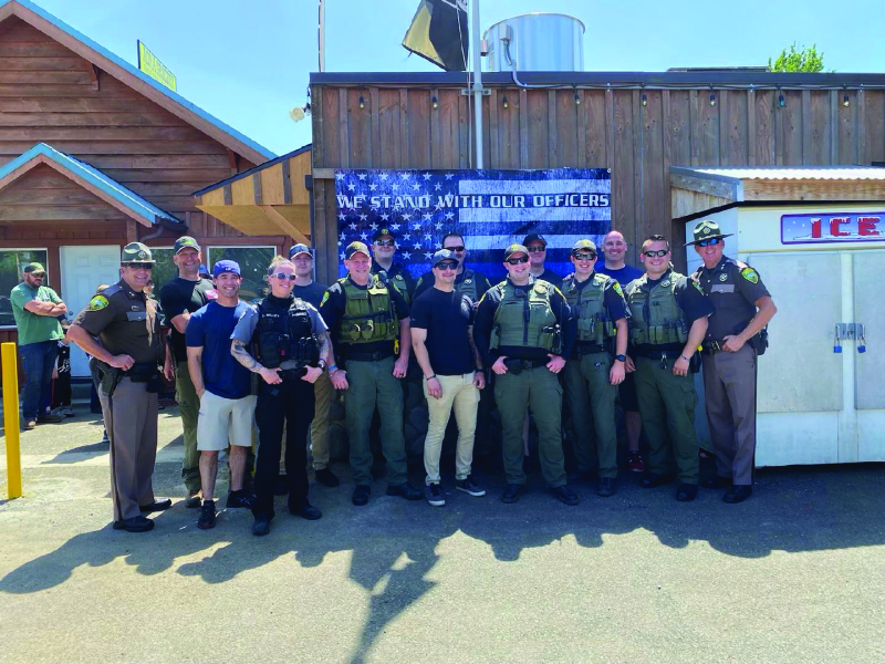 Back the Blue big success in Lewis County
